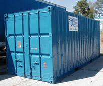 Construction Storage Trailers Blue Box Trailers